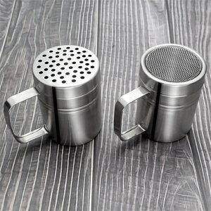 2点セット ステンレス鋼 キッチン シェーカー 塩 砂糖 シェーカースパイス缶 スパイス 収納容器 コショウ 調味料 調味料容器 wy240