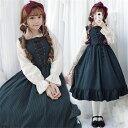 送料無料 ワンピース ロリータ ワンピース 女装 コスプレ アニメ 森ガール cosplay lolita かわいい 学生服 ドレス …