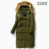 ダウンコートコートレディース大きいサイズロングショートラクーンファーダウンジャケット冬暖かいファーコート毛皮アウターかわいいおしゃれリアルファーカーキS/M/L/2Le303