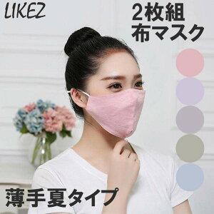 zoee 布マスク 2枚セット g915