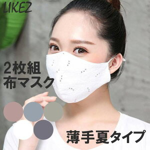 zoee 布マスク 2枚セット g916