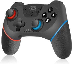 Switch コントローラー スイッチ コントローラー プロコン 無線 ワイヤレス Bluetooth 接続 デュアルショック ジャイロセンサー搭載 ニンテンドースイッチ対応