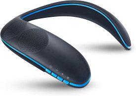 ZoeeTree ネックスピーカー ワイヤレススピーカー Bluetooth スピーカー 軽量 内蔵マイク ハンズフリー通話 テレビ/映画/音楽/ゲームに適用3Dサウンド 首掛け 肩掛け スピーカー