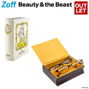 【Web限定価格】Beauty&Beast【Portrait】WH(ホワイト)【ディズニーコレクション コラボ Disneyzone 美女と野獣 ボックスケース ベル メガネ入れ 眼鏡ケース ブック型 レディース 小物入れ】【Z-Belle