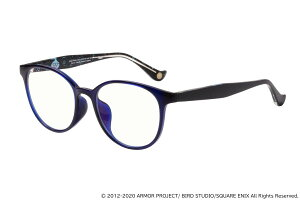 12月中旬発送予定予約商品|ボストン型PCメガネ|スライムモデル|Zoff+ドラゴンクエストX|ZoffPC(ブルーライトカット率約35%)|ゾフパソコン用メガネPCめがねPC眼鏡メンズおしゃれzoff_pc【ZA201P04_72E1ZA201P04-72E1ブルー】【50□19-145】