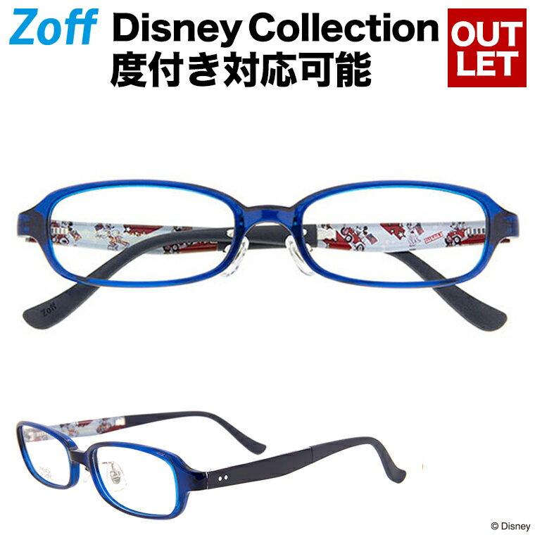 スクエア型めがね Disney Collection Happiness Series / Vintage Line 72A1(ブルー)【ミッキーマウス ディズニーコラボ Disneyzone メガネ ダテめがね 黒縁眼鏡 レディース キッズ 子供用 おしゃれ 度付き対応可能 zoff_dtk】【ZA171051_72A1】