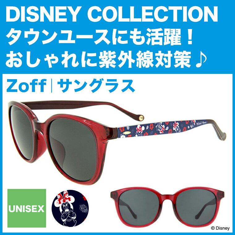 【ポイント10倍】Disney Collection Sunglasses 2017【ミニーマウス】ウェリントン型サングラス E-2(レッド)【ディズニーコレクション Minnie Mouse コラボ おしゃれ 黒縁めがね ゾフ Zoff UVカット 紫外線対策 メンズ レディース Disneyzone】【ZA71G09_E-2】