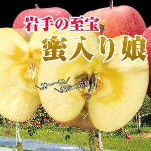 【11月下旬より順次発送】【送料無料】サンふじ 蜜入り娘 りんご 岩手 減農薬 ギフト