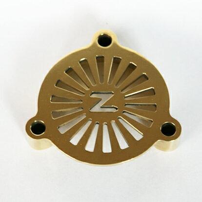 ZONオリジナル[送料無料]S&S Eキャブ用 真鍮 ブラス エアクリーナーカバー ハーレー オートバイ バイク harley エアークリーナー パーツ オリジナル 個性的 おしゃれ カスタムワークス ゾン CUSTOM WORKS ZON