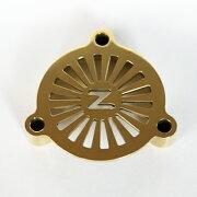 ゾンS&SEキャブ用エアークリーナーカバー/真鍮/ブラス