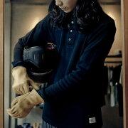 【送料無料】ワッフルヘンリーネックTシャツメンズ暖かいインナーシンプル