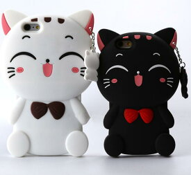 iPhone XS Max ケース iPhone XS ケース iPhone XR iPhone x ケース iPhone8ケース iPhone8Plus iPhone7ケース iPhone7plusケース iPhone6splus iPhone6s ケース iPhone6 ケース シリコン キャラクター スマホケース 可愛い 猫 ネコ 白 黒 おもしろケース