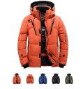 【送料無料】ダウンジャケット メンズ 軽量 ダウンジャケット 冬物 冬服 メンズ アウター ダウン 大きいサイズ 3L 4L …