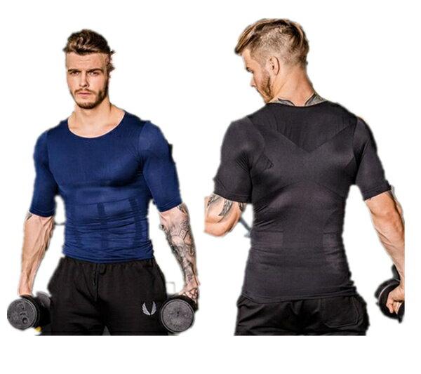 【メール便送料無料】加圧シャツ メンズ 加圧下着 加圧インナー 加圧Tシャツ 半袖 tシャツ ランニング 加圧 タンクトップ コンプレッション 補正インナー 補正下着 白 黒 ブルー 加圧トレーニング 筋肉 コンプレッションウェア メンズインナー 筋トレ
