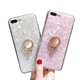 8cdd8b80dc ... ケース リング付き iPhone8plus ケース iPhone7plus iphone6sPlus iphone8ケース 落下防止  iPhone6 iPhone7ケース iPhone6s ケース 大人女子 激安 かわいい 韓国 ...