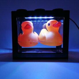 送料無料 LED 光る水槽