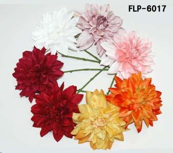 【造花 ダリア】全長18cmダリアピックFLP6017(全長18cm*花径約13cm*高さ約4cm)