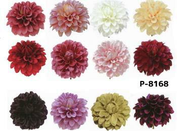 【造花 ダリア】花径約11.5cm ダリアピック P-8168 (全長約11cm**高さ約7cm)