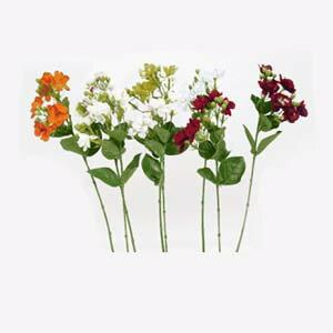 ≪ジャスミン*asca≫【全長約35cmジャスミン*開花6輪付】A-32965*8色(とてもきれいな色の可愛い花)≪ジャスミン 造花 花資材 シルクフラワー≫