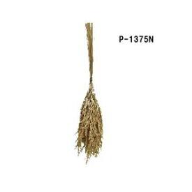 【稲穂束】ドライ稲穂束 全長約32cm 稲穂(約25本組)束 P-1375-N