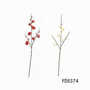 【造花 梅】梅小枝 1本180円 FD5374(全長約38cm*花径約1.5〜2.5cm)