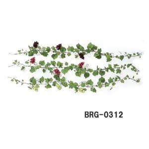 ぶどうの実付【ラウンドグレープガーランド】(ワイヤー入)BRG-0312-3色