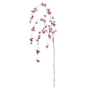 【造花 しだれ梅】1,300円 しだれ梅 A32413 アスカ 全長130cm 花径約3〜3.5cm