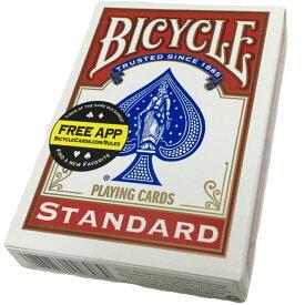 バイスクル BICYCLE トランプ 808 ポーカーサイズ レッド