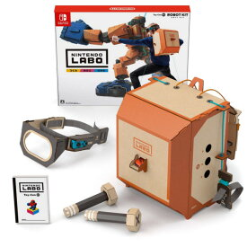 Nintendo Swittchソフト ニンテンドーラボ ロボットキット Nintendo Labo Toy-Con 02: Robot Kit