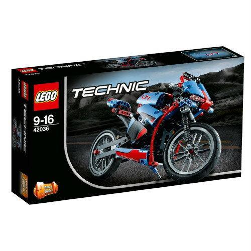 LEGO レゴ テクニック ストリートバイク 42036