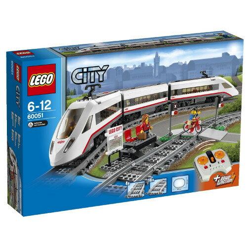 LEGO レゴ シティ ハイスピードパッセンジャートレイン 60051