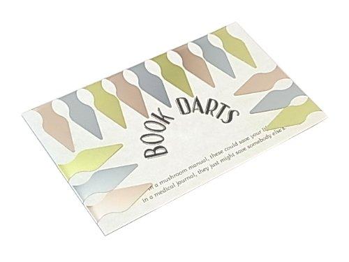 BOOK DARTS ブックダーツ マルチカラー 3色ミックス 15個入り