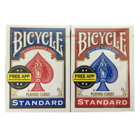 バイスクル BICYCLE トランプ 808 ポーカーサイズ レッド、ブルー 2個セット