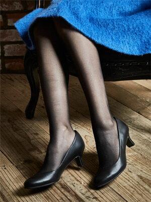 【日本製】【本革】ミドルヒールパンプスPUMPSプレーンフォーマルエナメル・ブラックBLACK黒ヒール5cm【卒業式卒園式入学式入園式フォーマル結婚式靴リクルート】