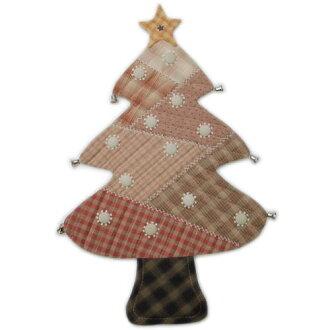 拼凑细工圣诞节配套元件728树的花毯(红)