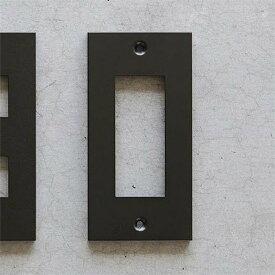 【メール便対応】スイッチプレート コンセントプレート ブラック3口 アイアン DIY SML コンセントカバー スイッチカバー 新生活