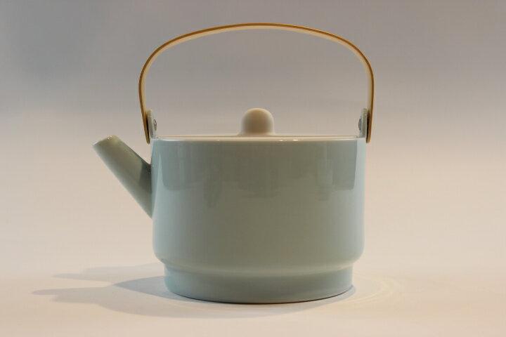 1616/arita japan / S&B Tea Pot (青磁) 有田焼 ハンドメイド アリタジャパン ポット
