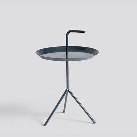 正規品 北欧家具 HAY ヘイ DLM SIDE TABLE DEEP BLUE HIGH GLOSS テーブル L ディープブルー サイドテーブル コーヒーテーブル