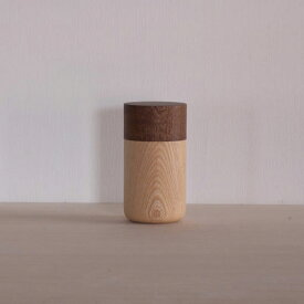 畑漆器 SOJI tutu M チャ 山中漆器 筒 茶筒 キャニスター 小物入れ キッチン ギフト プレゼント 器