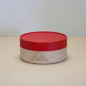 畑漆器店 SOJI hako L red 山中漆器 シンプル 北欧 艶消し 小物入れ 器 収納 和食器 ギフト キッチン