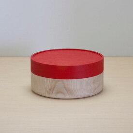 畑漆器店 SOJI hako M red 山中漆器 シンプル 北欧 艶消し 小物入れ 器 収納 和食器 ギフト キッチン