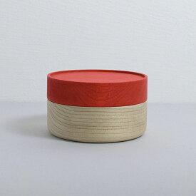 畑漆器店 SOJI hako S red 山中漆器 シンプル 北欧 艶消し 小物入れ 器 収納 和食器 ギフト キッチン