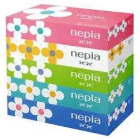 【スーパーセール10%OFF】ネピア ネピネピティッシュペーパーボックス(150W 5個×12パック入)<送料無料>