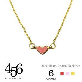 【楽天スーパーセール 90%OFF】≪456≫ エイプリル・メイ・ジューン全6色 ハートモチーフ ネックレス Wee Heart Necklace(Gold/Silver)【レディース】 ワンマイルコーデ
