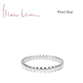 ≪Blair Lim≫ ブレア・リムシンプル ギザギザ シルバー リング ブランドボックス付き SV925 Simple Wheel Ring (Silver)【レディース】【ギフト ラッピング】