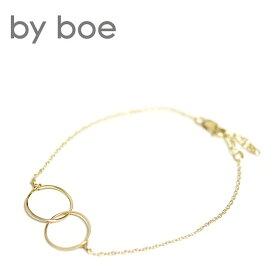 【待望の最新作】≪by boe≫ バイ・ボーサークル フープ ゴールド チェーン ブレスレット Bracelet (Gold)【レディース】【楽ギフ_包装】