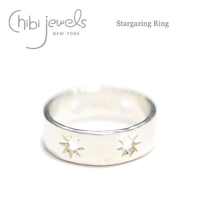 【再入荷】≪chibi jewels≫ チビジュエルズ星 スター リング 指輪 Stargazing Ring (Silver)【レディース】【楽ギフ_包装】
