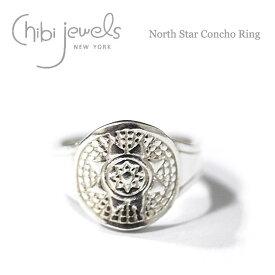 【再入荷】≪chibi jewels≫ チビジュエルズボヘミアン シルバー ノーススター サークル 北極星コンチョ リング North Star Concho Ring (Silver)【レディース】 ワンマイルコーデ【楽ギフ_包装】
