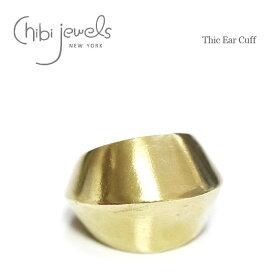 【待望の最新作】≪chibi jewels≫ チビジュエルズボリューム ゴールド イヤーカフ Thic Ear Cuff (Gold)【レディース】 ワンマイルコーデ