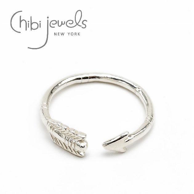 【再入荷】≪chibi jewels≫ チビジュエルズ弓矢アローシルバーリング Arrow Ring (Silver)【レディース】【楽ギフ_包装】